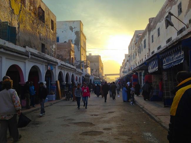 Inside Essaouira's medina