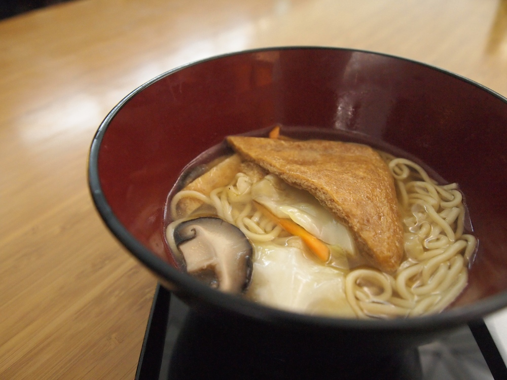 Made-to-order ramen in The Noodle Bar