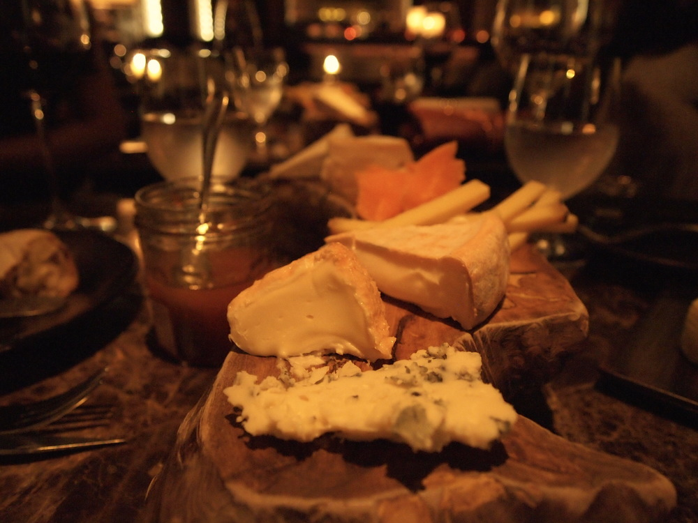 French cheese board at Caprice Bar