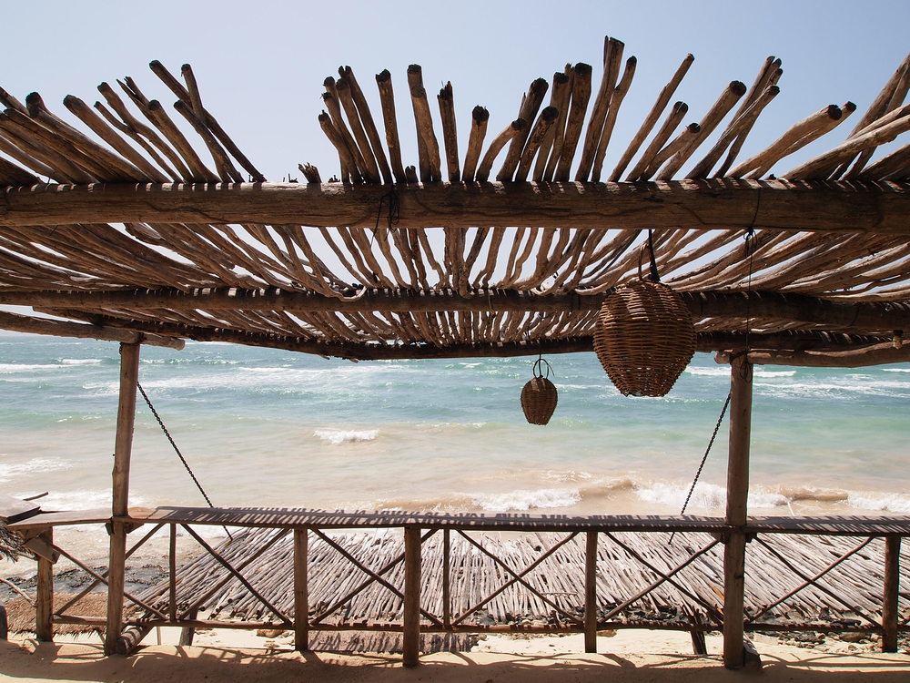 Cool beach bar-in-the-making