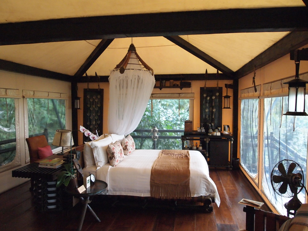 Thailand. One of the Four Seasons Tented Camp Golden Triangle's 15 luxury tents {this was my abode}.