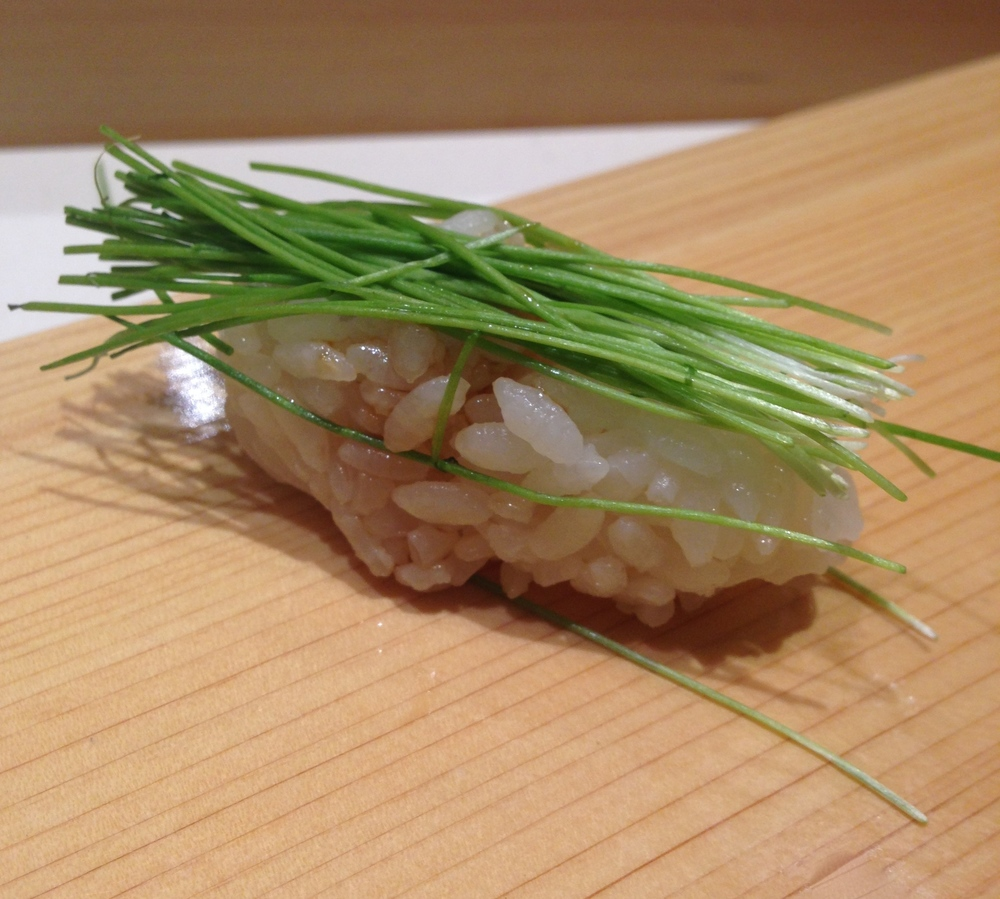 Tokyo. Where art and food fuse at Sushi Bar Yasuda.