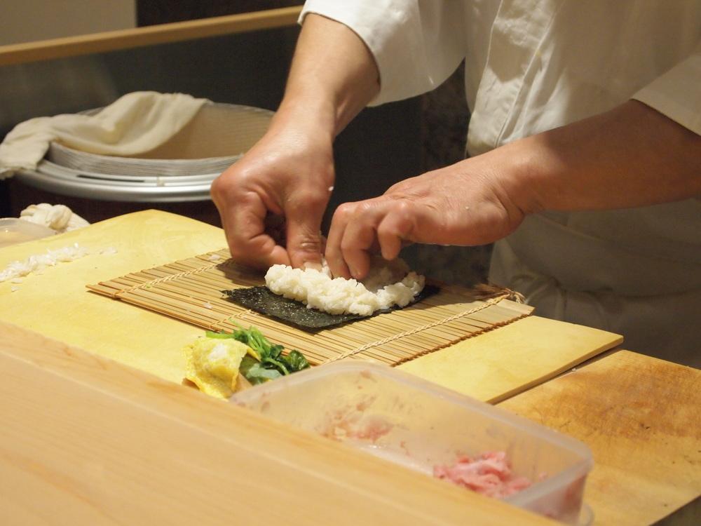 Tokyo. Sushi Bar Yasuda.