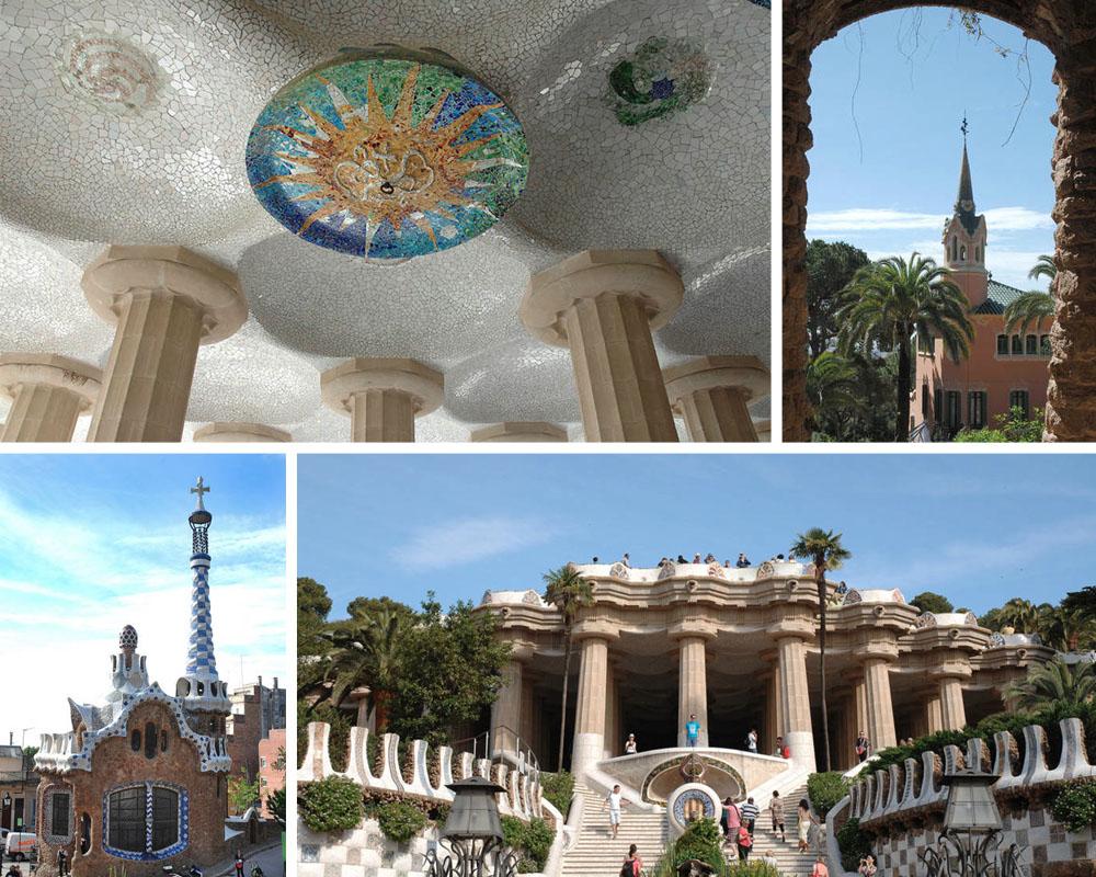 DO // Visit Gaudí's  ParkGüell to experience art nouveau architect Antoni Gaudí's curvy mosaicmasterpiece/public park.
