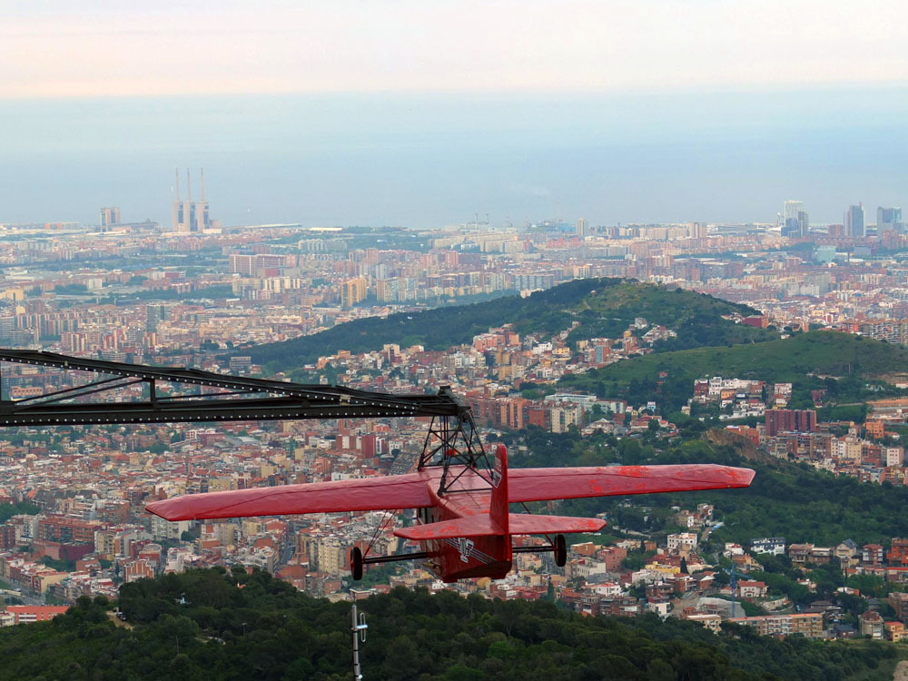 DO // Trek up to the highest point in the city for incredible views and  amusement park rides  at Mount Tibidabo. Best reached by bus or metro and 1901-built funicular. Bonus points for re-enacting scenes from  Vicky Cristina Barcelona .