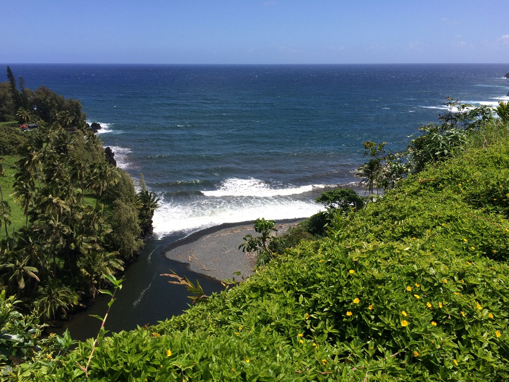 Road to hana - how to for car sickness