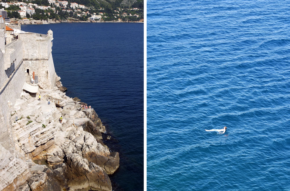 DO // You may notice it's more difficult to swim in the saltier waters of the Adriatic Sea, but swimming off the rocks outside medieval city walls is not to be missed.