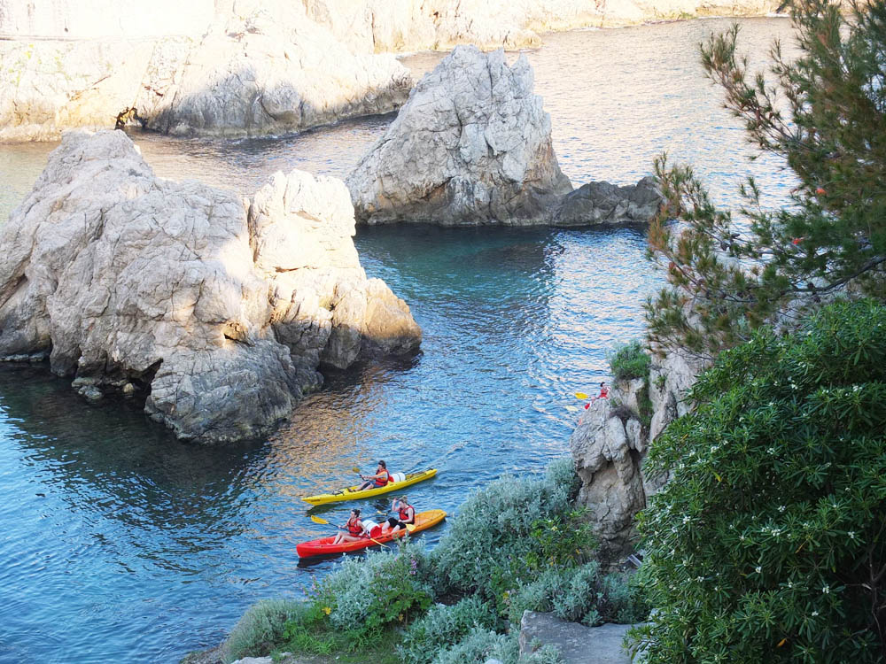 DO // Rent a kayak and paddle to the nearby island of Lokrum.