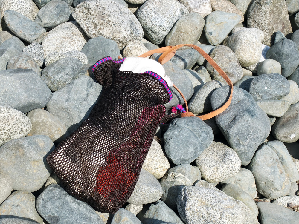Tulum Beach-Weave Bag in Earth // $39