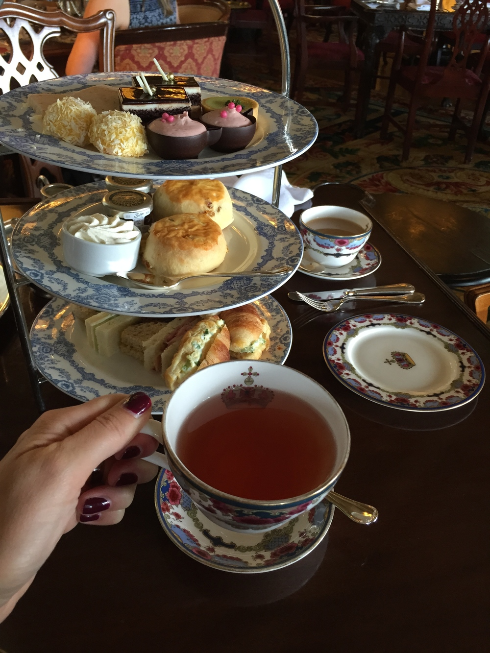 Afternoon Tea at The Fairmont Empress