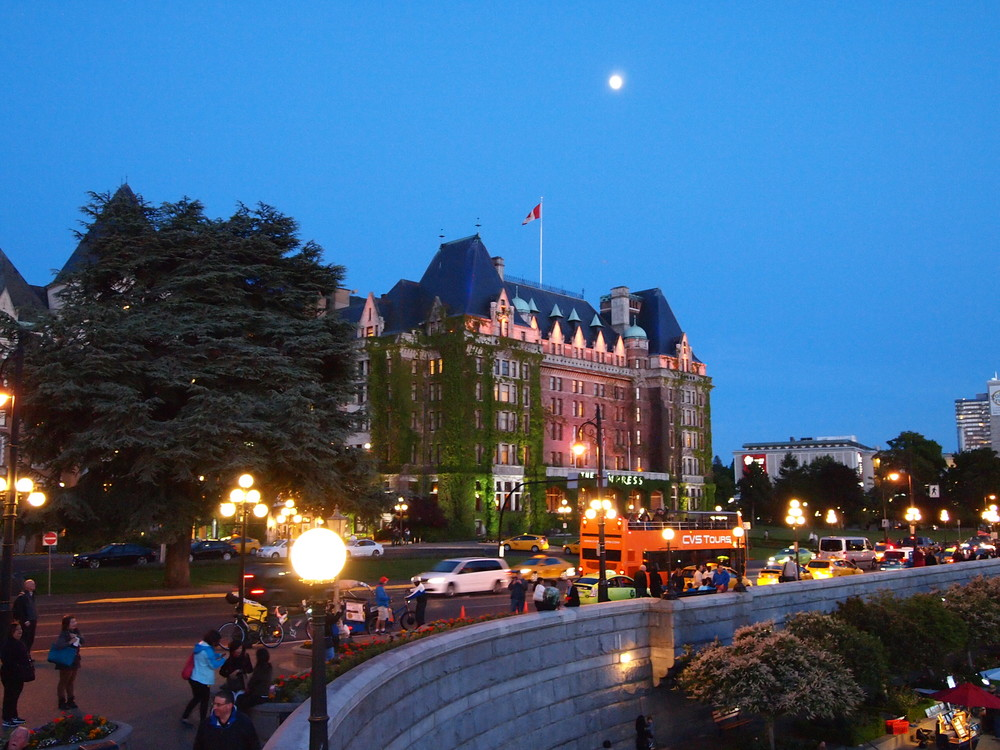 Victoria at night