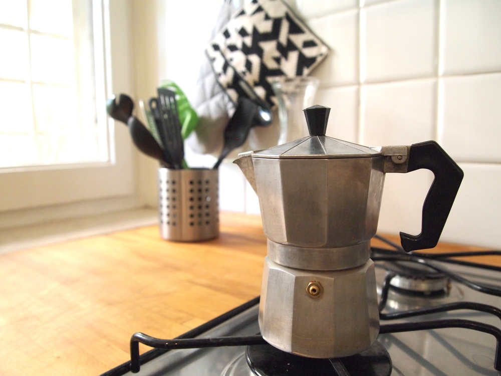 Learning the art of the iconic Moka Express {read: Jet lag miracle worker}, created in Italy in 1933. Eighty-five years later the same design is still sold.