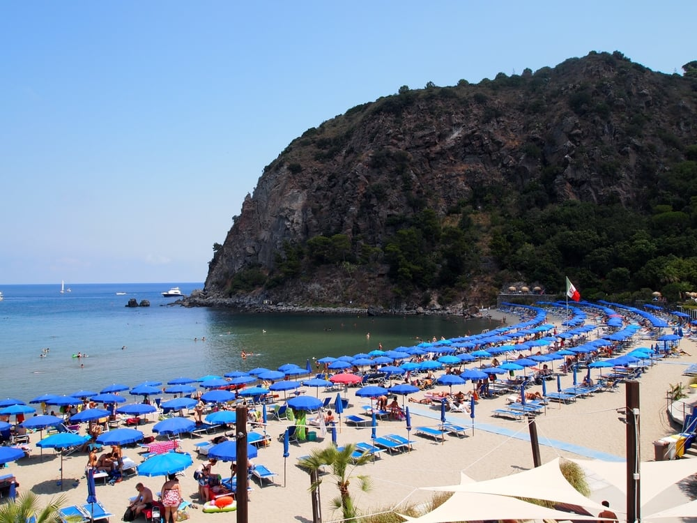 Ischia: and beaches...