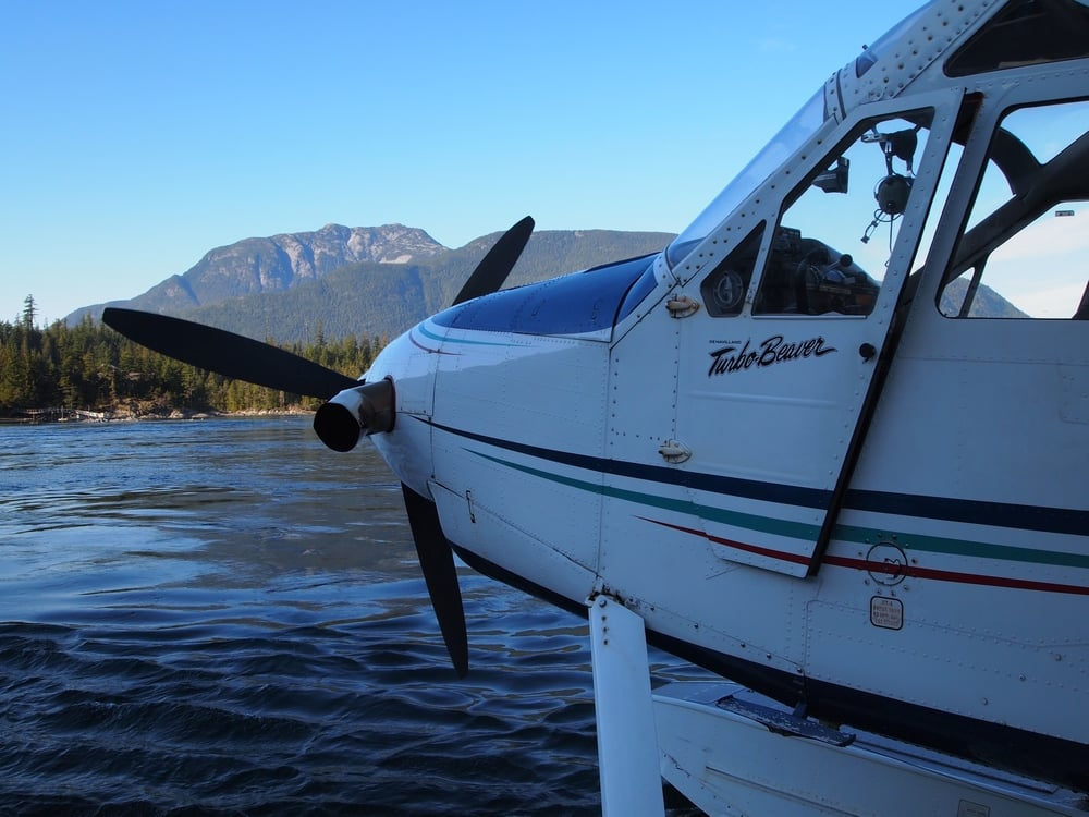 Canada: Where even the float planes are called beavers.