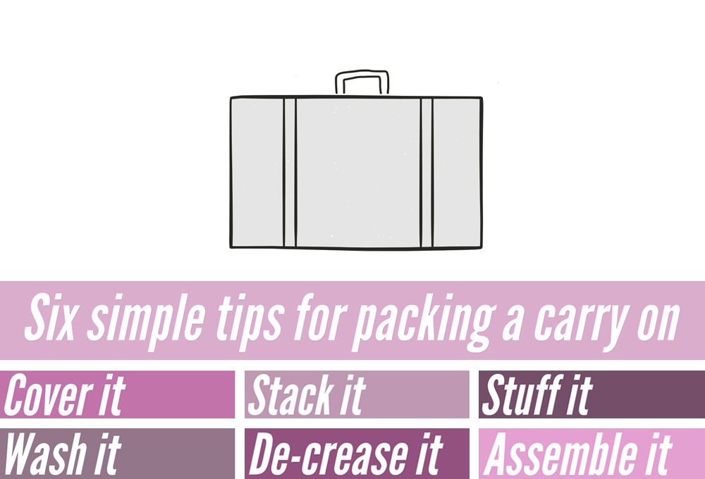 6 tips for packing like a pro