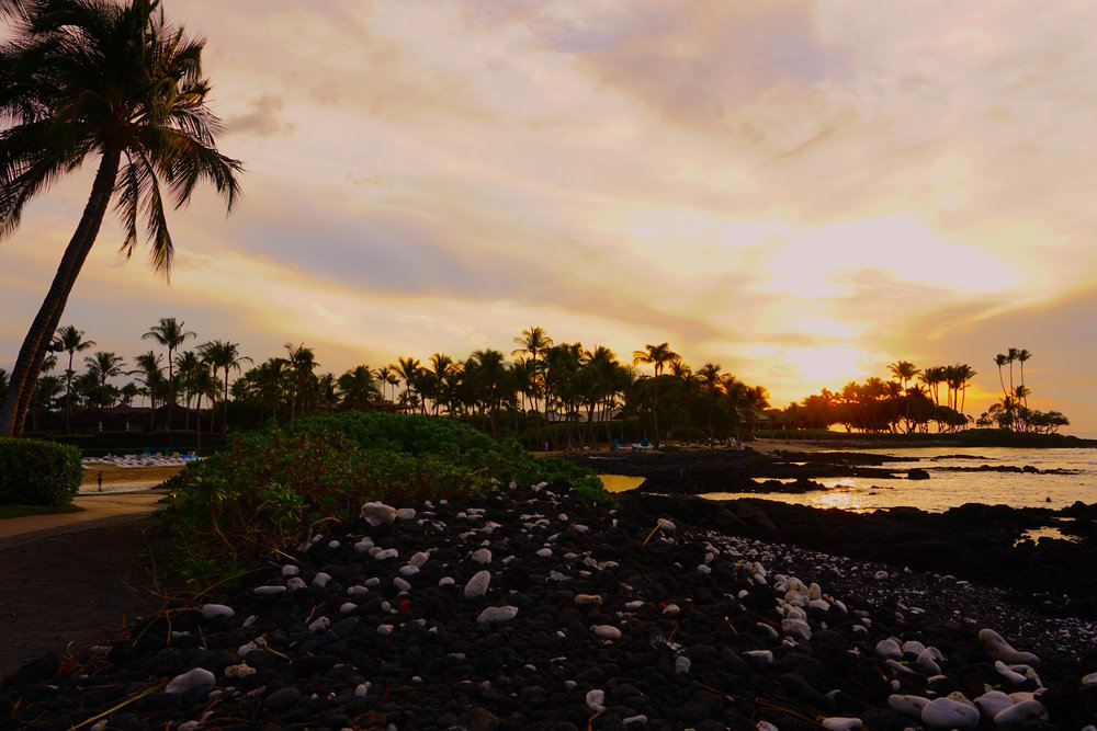 fairmont orchid sunset