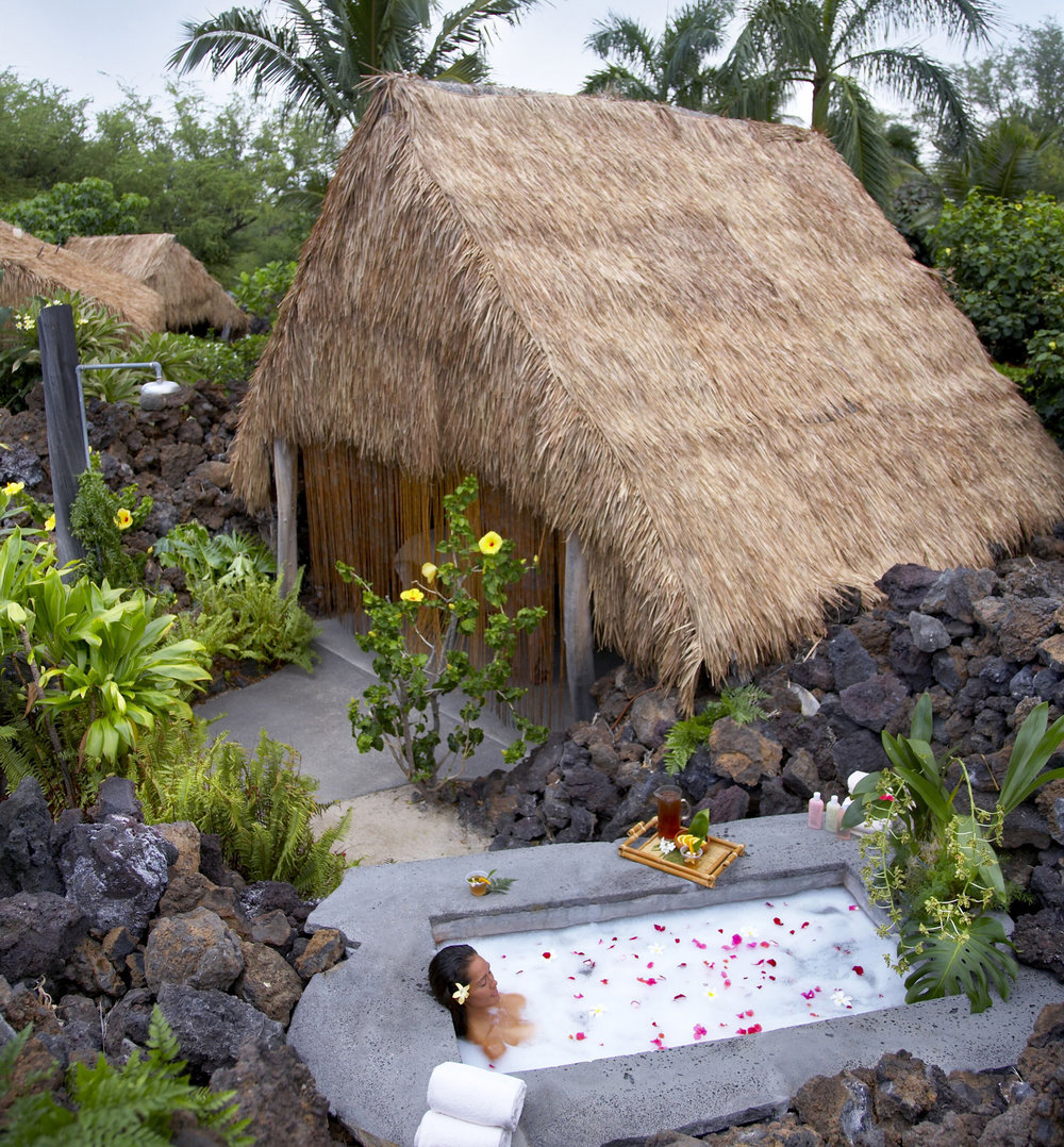 The Mauna Lani Spa, ahhhhhhh, one of the island's best wellness retreats.