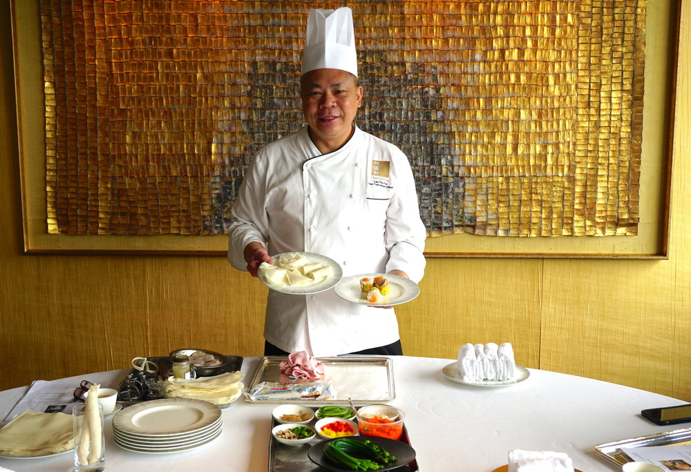 The Executive Chef also doubles as a knowledgeable {and hilarious} dim sum teacher. Call the InterContinental Hong Kong to book a dim sum-making class at Yan Toh Heen.