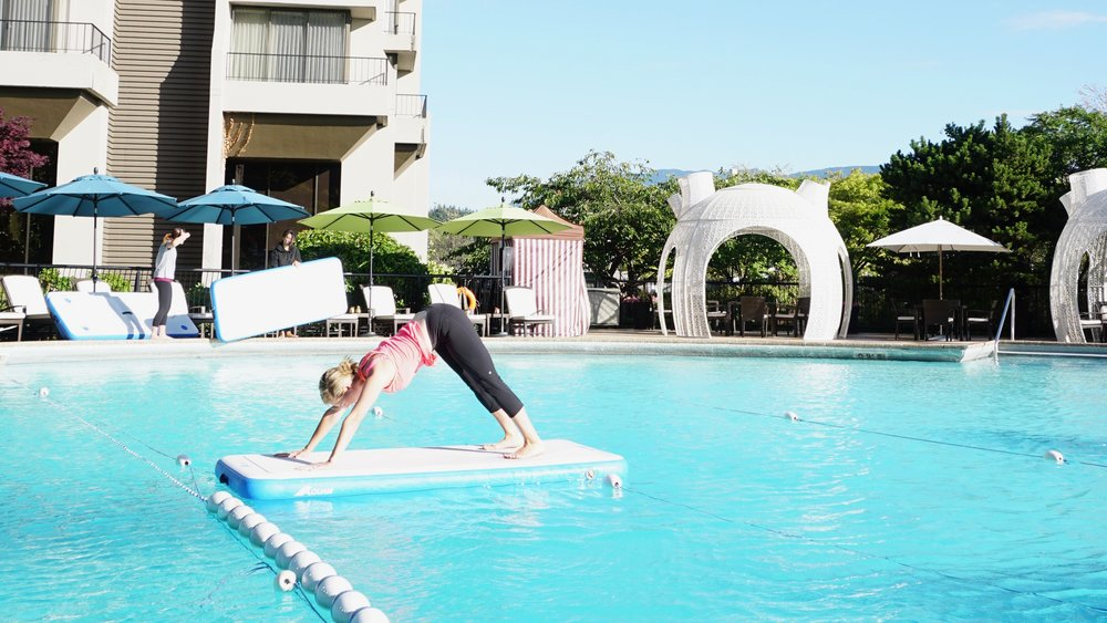 liquid yoga the westin bayshore summer