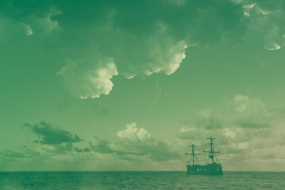 Green Pirate Ship