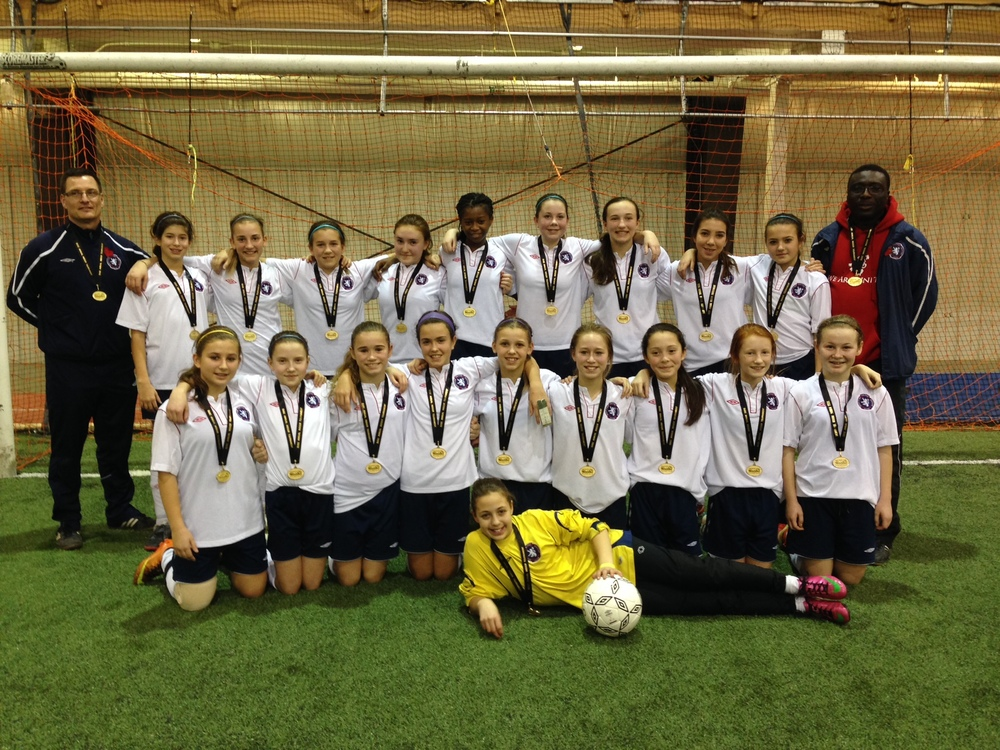 Scottish United 2001 Girls - Gold in Saskatoon