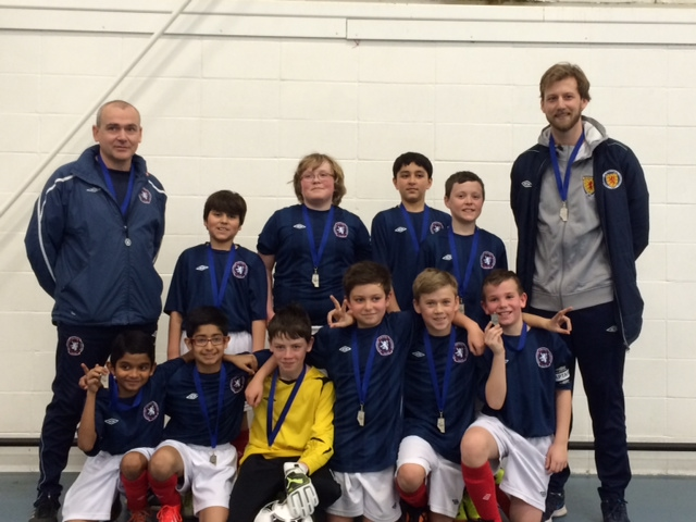 Scottish United Under 12 Tier II Boys - Silver and Fair Play, ASA Futsal Provincials