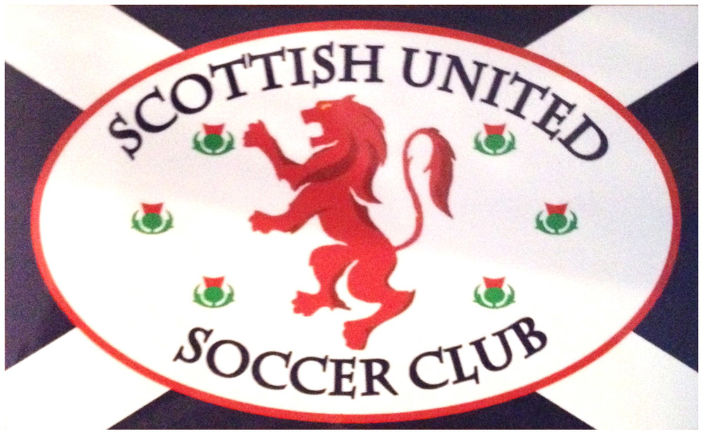 Scottish United Magnetic Bumper Sticker - $10.00 each