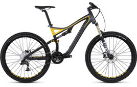 Specialized FSR mountain bike is among our fleet of Maui bike rentals.