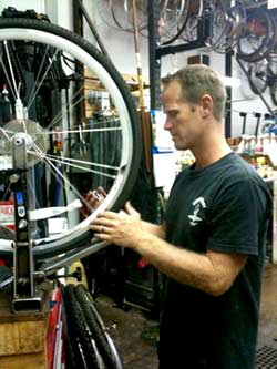 West Maui Cycles Lahaina bicycle shop for bike repairs and bike parts on Maui.