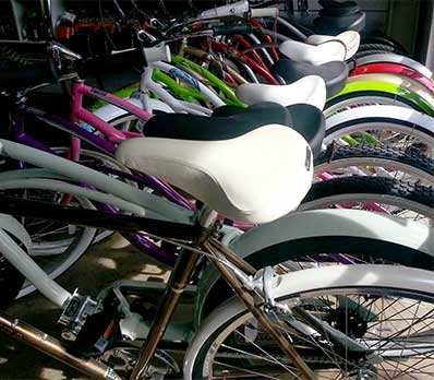 Bike Rentals at Lahaina bike shop.