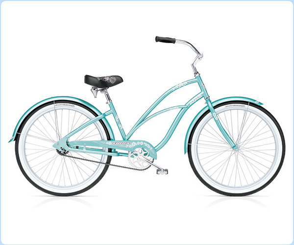 Ladies Electra bike rental available at West Maui Cycles in Lahaina