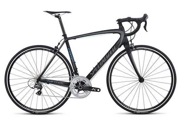 West Maui Cycles performance road bike rental, Specialized Tarmac Comp Mid-Compact image