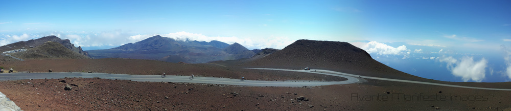 The last kick to the summit of Haleakala