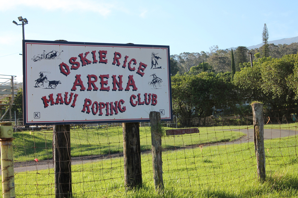 The infamous Arena roping sign. If you miss a turn here, you do an extra hour of climbing.