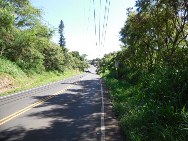 Waihee School is at mm4, great place to get water and turn around.