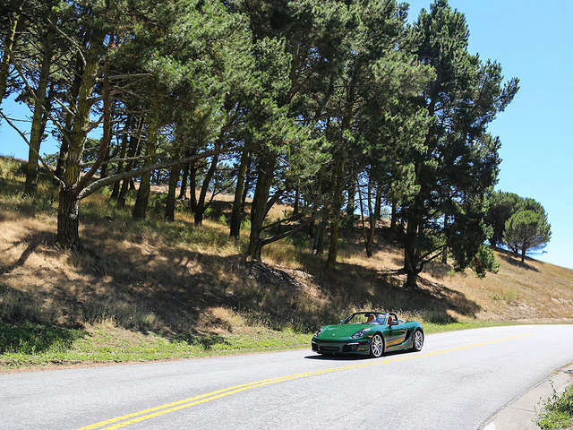 Racing Green Boxster  on Flickr.  British racing green boxster