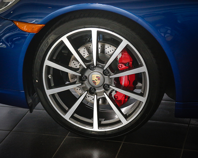 Porsche carrera wheel  on Flickr.  Wheel in our Showroom