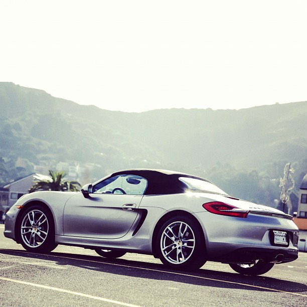 Working on my location pics.  #porsche #porscheboxster #boxster (at Sausalito Yacht Harbor)