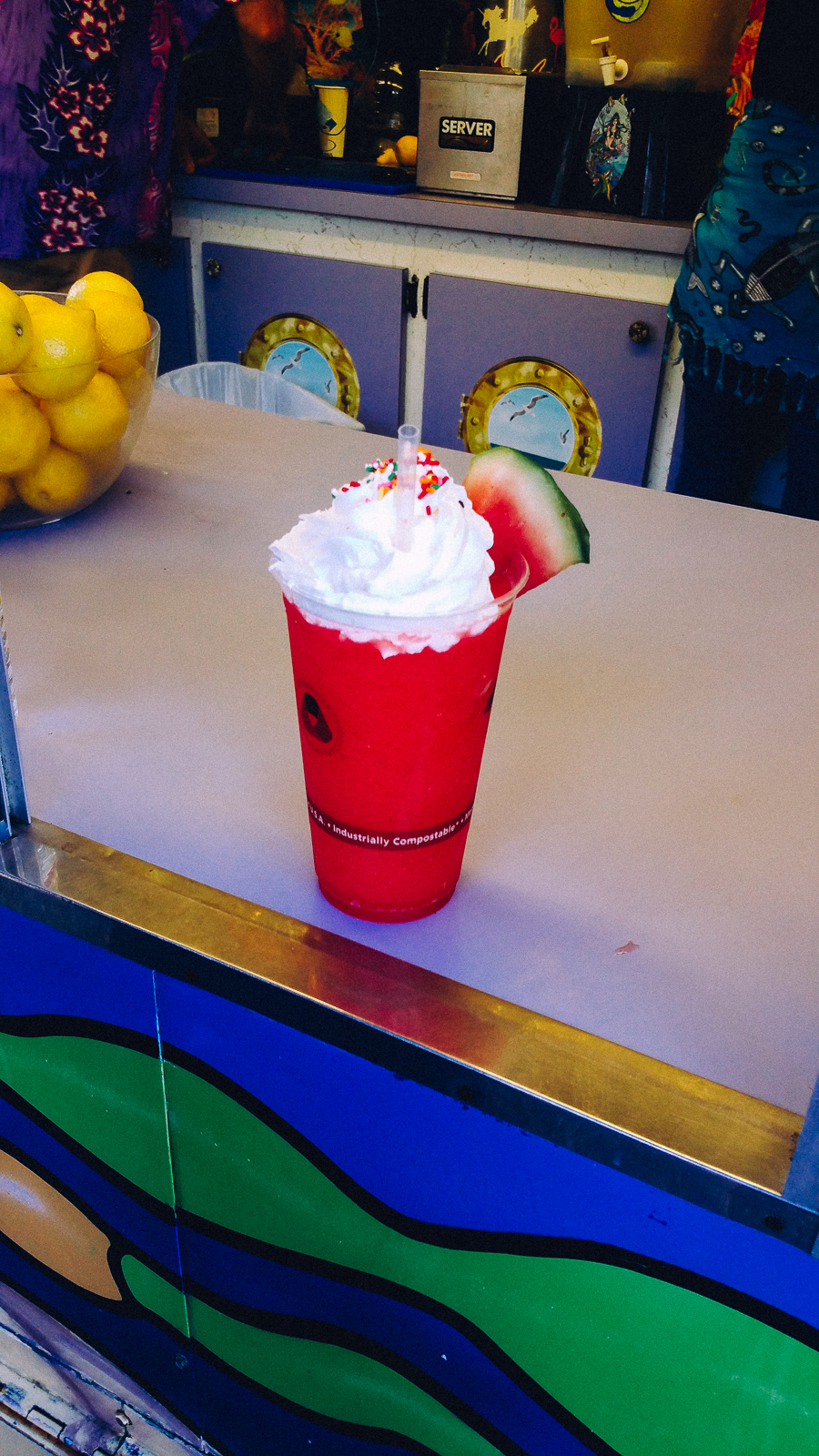 Watermelon smoothie....