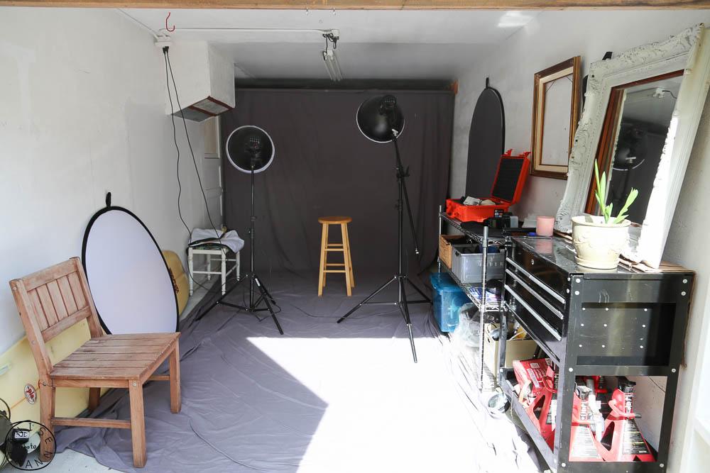 Фотостудия в стиле гараж