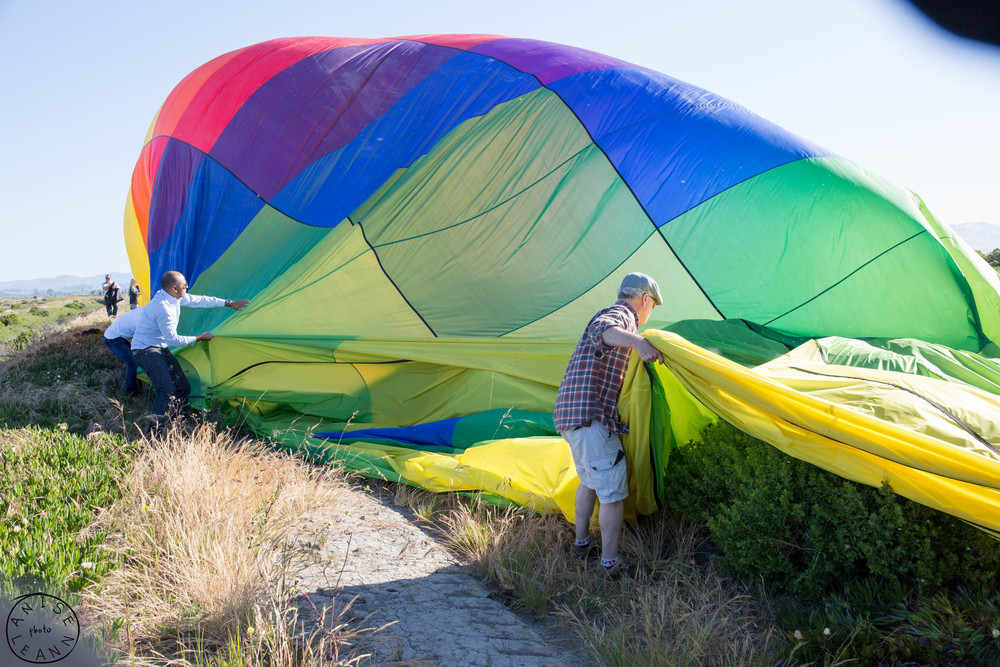 Napa Valley Hot Air Balloons by anisephoto.com