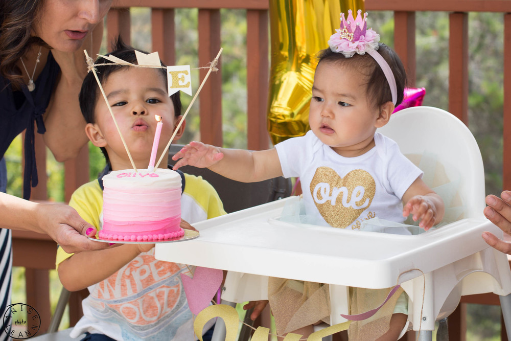 Olive's 1st Birthday Party