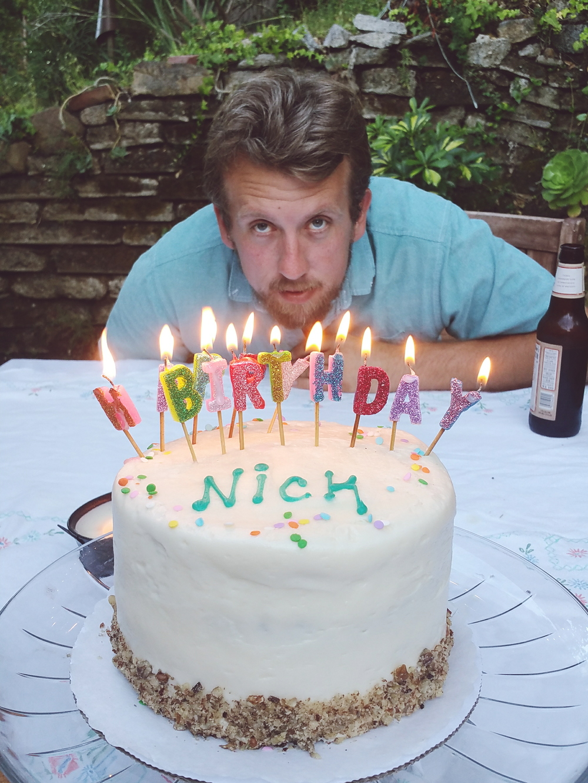 Nicks 36th birthday  xoxoxo love you N.