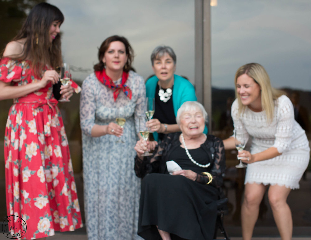 Blooper reel with Margrit Mondavi in May
