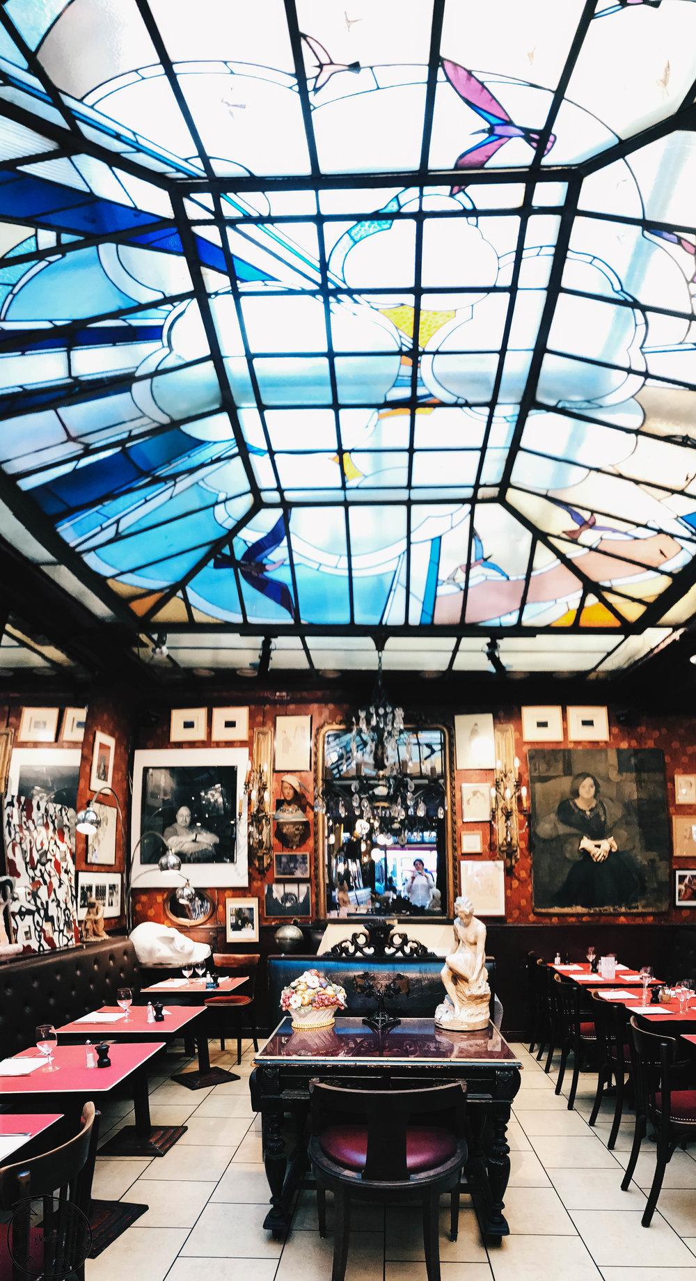 Cafe Palais - Reims, France