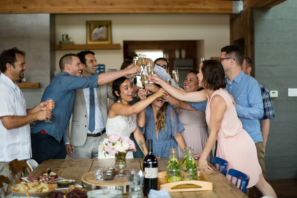 Wedding in Tomales, California