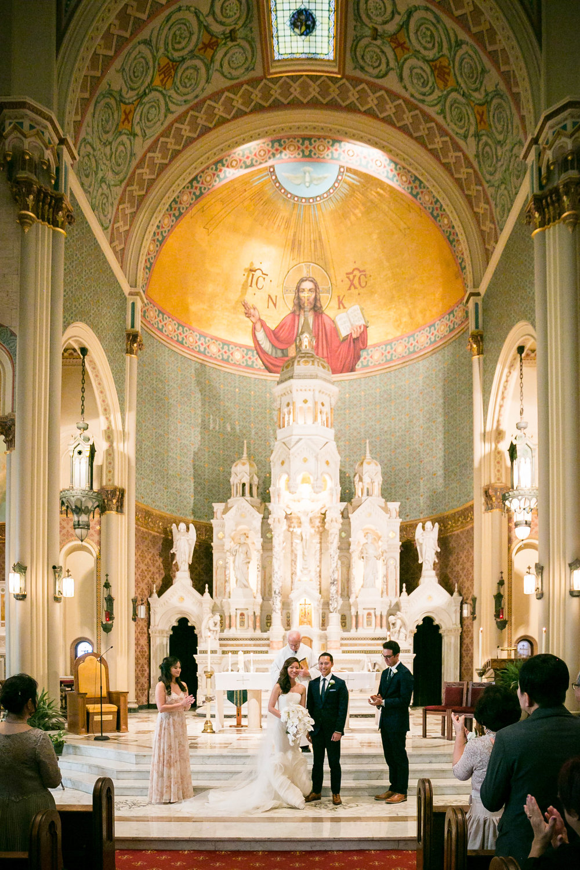 Saint Peter and Paul Church Wedding - Little Italy San Francisco