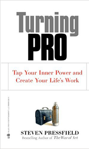 Turning Pro- Steven Pressfield  - Get real, get honest, be a pro.
