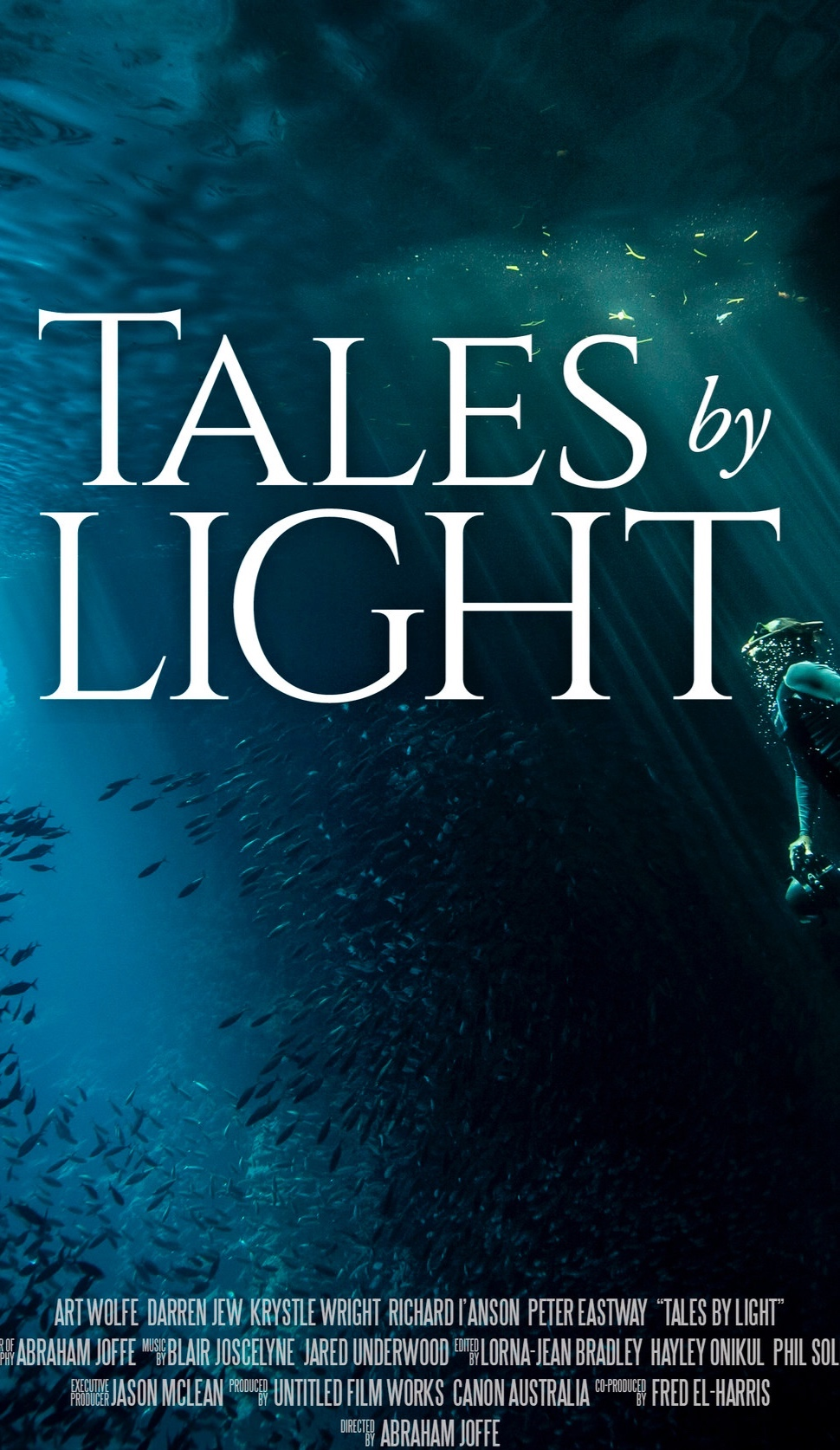 Tales by Light - See the world - deep underwater, soaring at mountain tops, indigenous tribes & animals! Ohhh you know Iove the animals. Mother Nature is exalted and showcased by the incredible cinematography of Abraham Joffe & captured by a number of amazing photographers. Be awed, be inspired by life!
