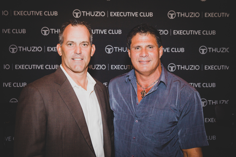 THUZIO EXECUTIVE CLUB: GAME WATCH EVENT JOSE CANSECO & ROBB NEN